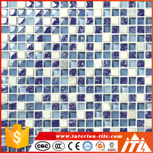 Hot sale mosaic tile making machine, glass mosaic for swimming pool tile