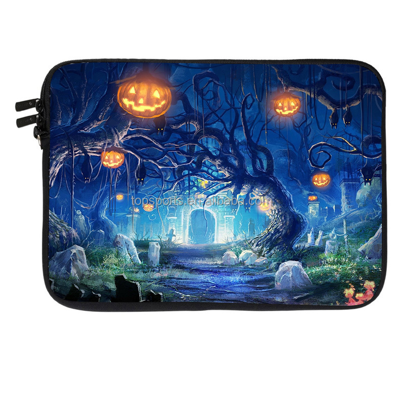 Promotional waterproof neoprene 15 inches laptop sleeve for Hallowmas