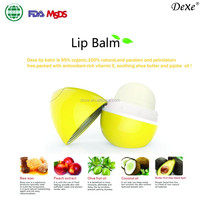 herbal lipstick cute egg shape lip balm oem available