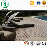 Noble house swimming pool decking puzzle wood flooring