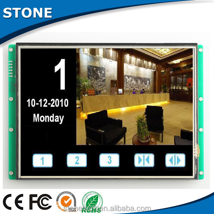 electronic components supplies with 5 5 inch sunlight readable lcd monitor for medical equipment