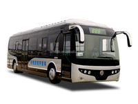 Dongfeng 4x2 EQ6100EV electrical city bus 10.5m