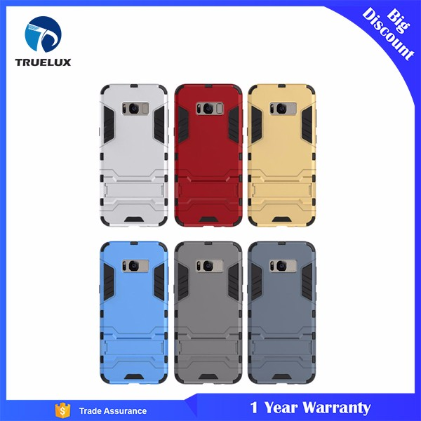 Wholesale Factory Shockproof Hard Slim Back Cover for Samsung Galaxy S8 TPU PC Armor Case