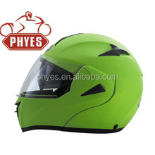 Dual Visor Full Face Flip Up motor Helmet