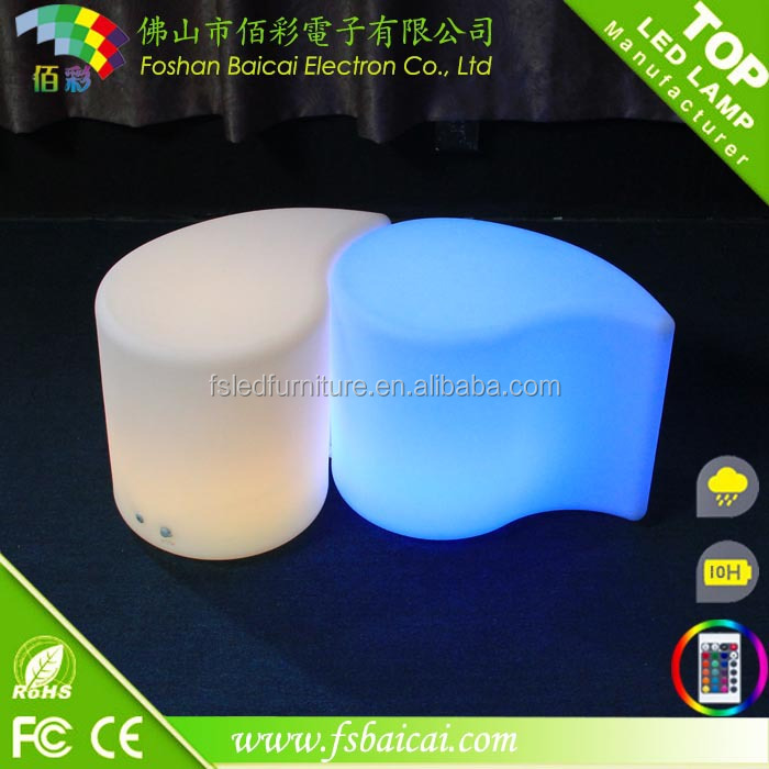 LED BAR STOOL with Light Color Change & Remote Control
