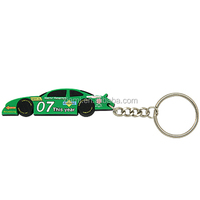 high qulality environmental friendly cool sports car mode soft pvc acrylic keychain