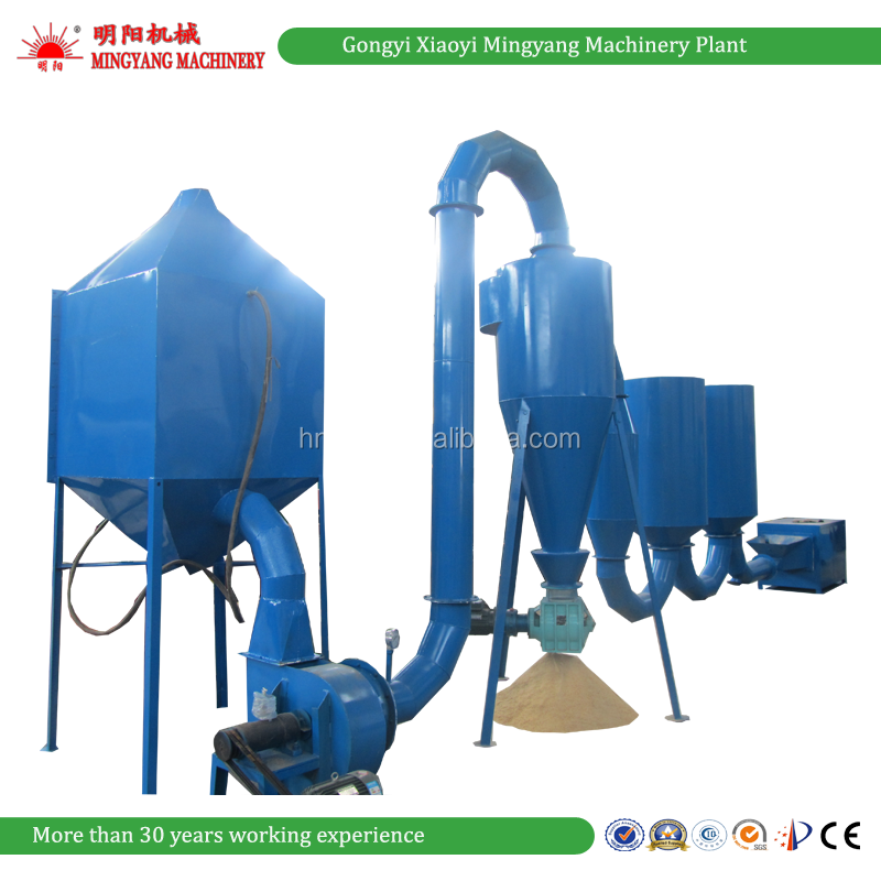 China factory CE wood powder sawdust flash dryer