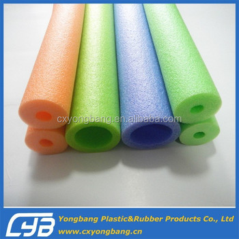 Colorful EPE foam water noodle with EN71