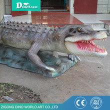 Artificial Animatronic Remote Control Crocodile