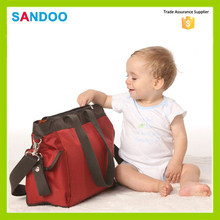 2016 SANDOO nappy changing bag, fashion mummy bag, wholesale baby diaper bags