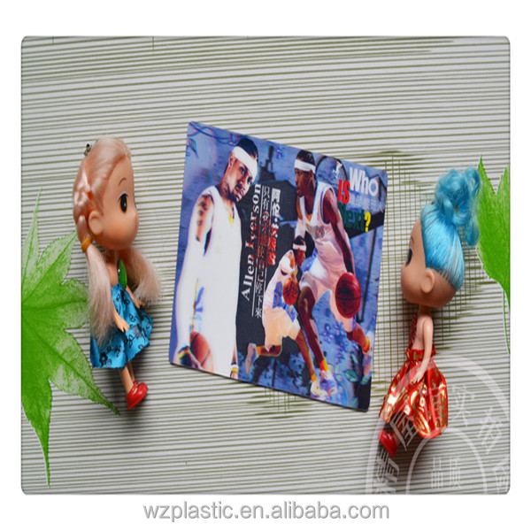 custom 3D post card /3D lenticular postcard
