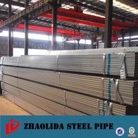 galvanized steel tube ! hot dipped galvanized square and rectangular steel pipes cold rolled square tube 40*40 carbon fiber tube