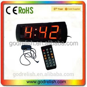 "Godrelish Indoor 4"" 3 digits LED Countdown Timer numeric display"
