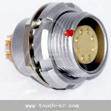 8 pin M12 FAG EEG 1B nut fixed female connector factory price