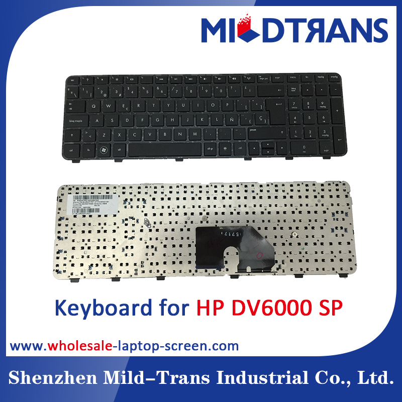 High quality laptop Keyboard for HP DV6000 SP UK BR Spanish French Italian Russian Layout