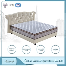 Wholesale high quality sale sleep well hotel used memory foam spring bedroom mattress