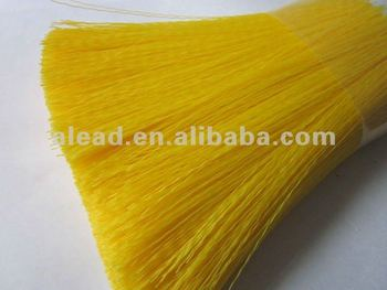 Flaggable PVC filament for car washing brush