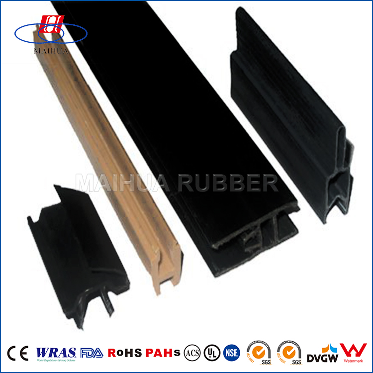 EPDM extrusion Weatherstrip rubber wooden window seal