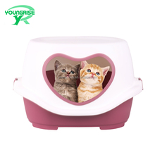Small pet cages house plastic cat indoor outdoor cat house