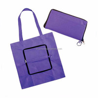 China best selling customized logo gift supermarket foldable shopping bag