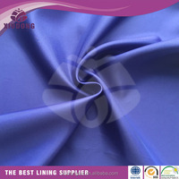 good quality high density poly taffeta fabric down proof lining for garment