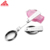 three section 304 Stainless steel foldable spoon outdoors