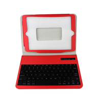 2015 BEST SALE wireless Keyboard with pu leather