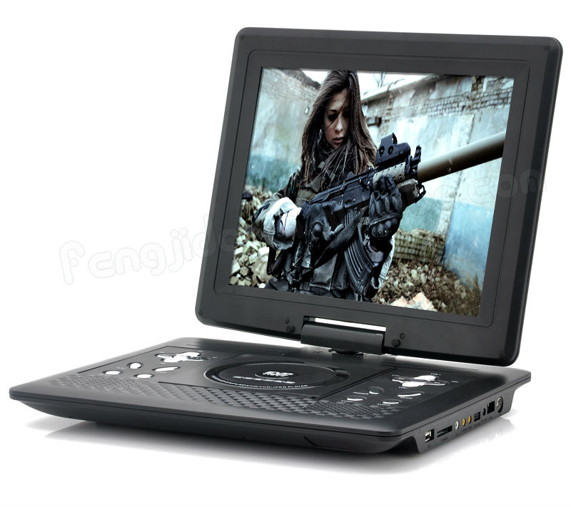 Large Screen Portable : Hot sales large screen portable dvd player with