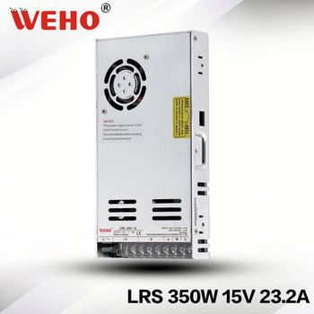 LRS-350-15 hot sale 30mm slim type 350w 15v smps for 3D printer