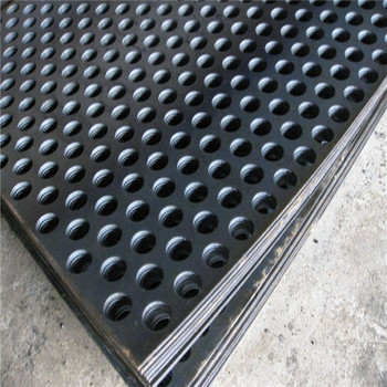 anping factory supply round holes perforated metal mesh plates