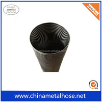 flexible interlock exhaust pipe for exhaust system