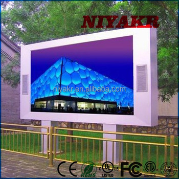 Niyakr Outdoor SMD Dot Screen xxx Photos Advertising 6mm SMD Outdoor LED Screen
