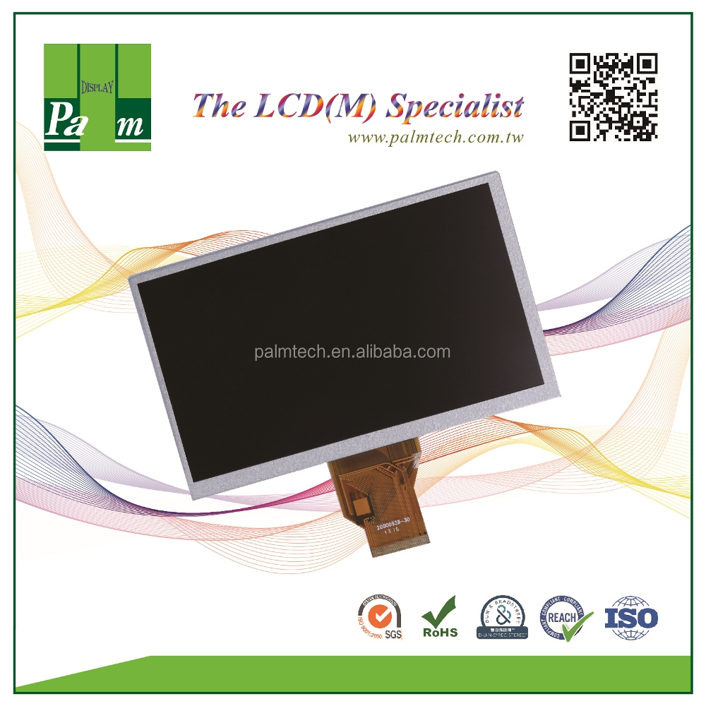 OEM ODM TFT LCD module 7 800x480 resolutions LCD resistive capacitive touch screens