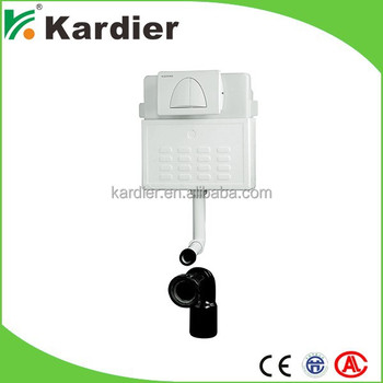 Sanitary ware toilet tank with inlet valve water tank