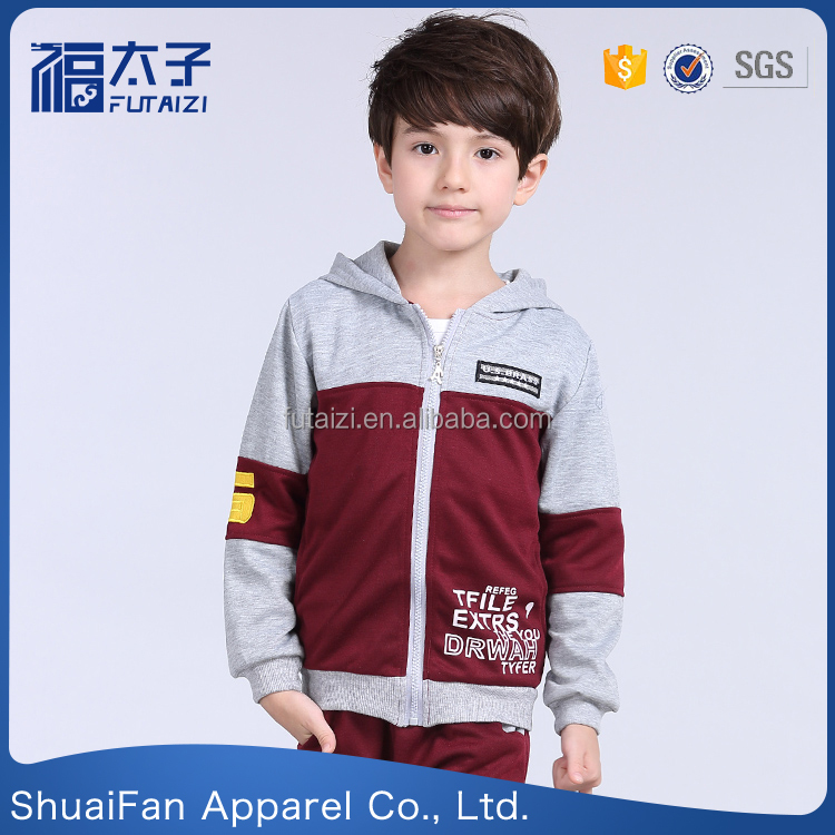 Children's wear kids sport suit Warm Camping clothes boys clothes set
