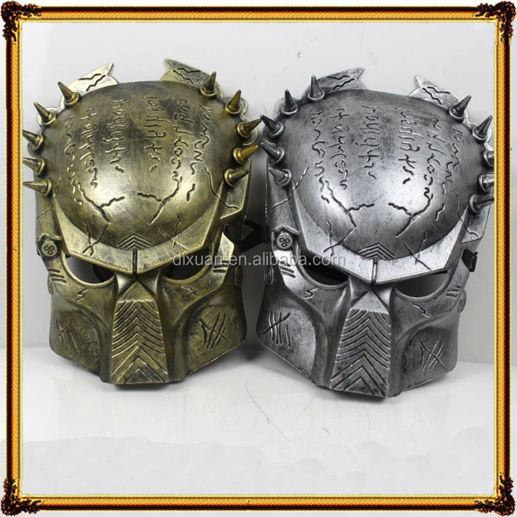 Film and television theme iron warrior mask lone Wolf iron plastic mask