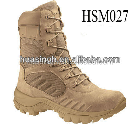EE/E wide high level market suede army combat boots hot weather desert Bates