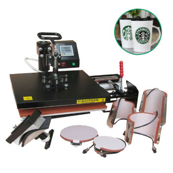 YH-J29 economic combo 8 in 1 heat transfer Machine,mug press machine