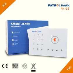 Touch-Pad Home/Business Security Alarm System Wireless, English/Russian/Spanish/German/French Languages PH-G2