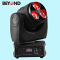dj decoration 3pcs 15w 4in1rgbw zoom moving head led stage wash light