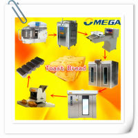 double speed Spiral Mixer for bread machines bread production line