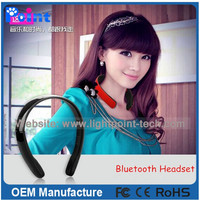 v4.0 edr China high end hot selling wireless bluetooth headset stereo bluetooth headset