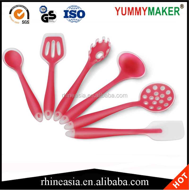 Hot FDA Approved Silicone Cooking Tools Silicone Kitchen Utensils Set
