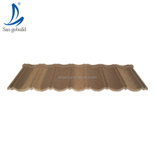 Long lasting new french style hot sale decoration building materials stone coated steel roofing shingles transparent roof tile