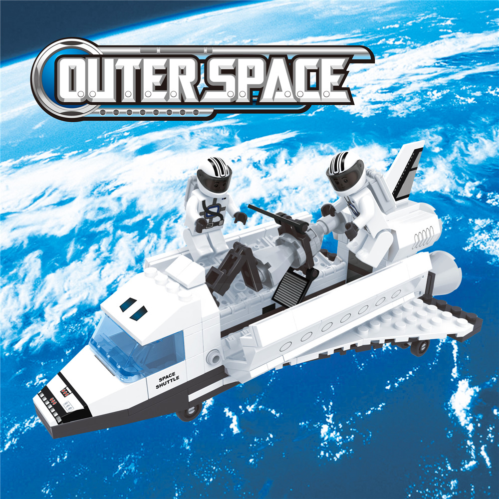 180 pcs DIY outer space creative building blocks toys