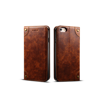 Wholesale Mold Making Bumper Leather Cell Phone Case for Iphone 6 6PLus 4 4Plus