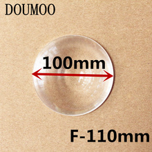 Minifier Lens Round Optical PMMA Plastic Car Parking Wide Angle Fresnel Lens Large Diameter 100 mm Focal Length -110mm