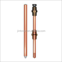 Cheaper copper stranded clad steel ground earth rod