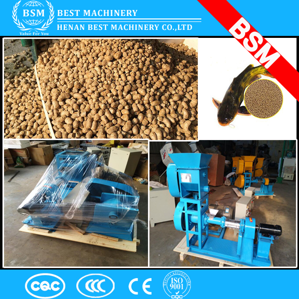 BMP-135 500kg /h floating fish feed extruder machine animal pet food extruder