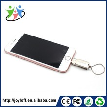 Inexpensive Products Dual Double Plug Interface Otg Mobile Phone Pc Metal Key Usb Memory Disk